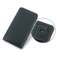 Leather Vertical Pouch Belt Clip Case for Sony Walkman NW-F880 NW-F885 NW-F886 NW-F887