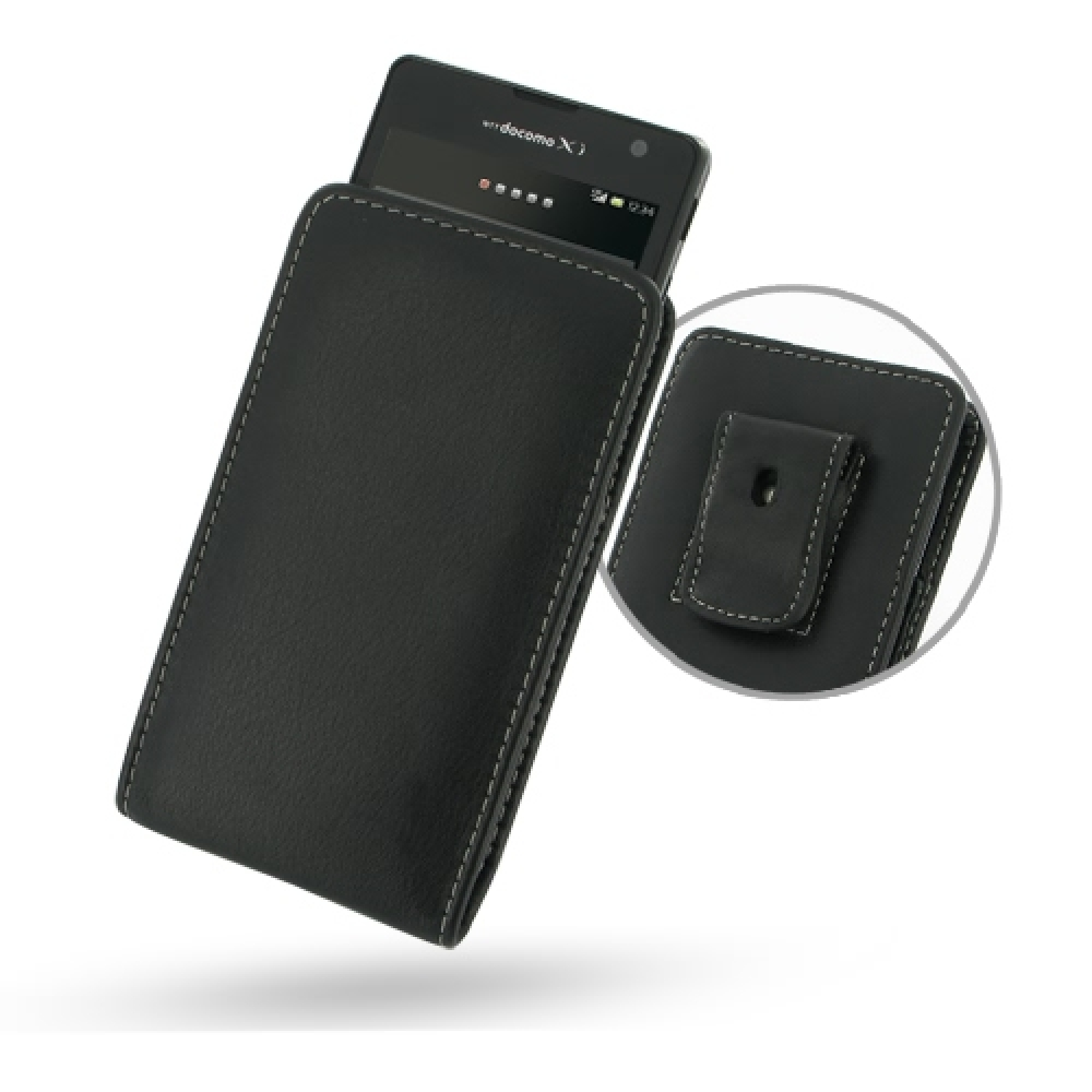 10% OFF + FREE SHIPPING, Buy PDair Top Quality Handmade Protective Sony Xperia GX SO-04D Pouch Case with Belt Clip (Black) online. You also can go to the customizer to create your own stylish leather case if looking for additional colors, patterns and typ