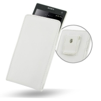 10% OFF + FREE SHIPPING, Buy Best PDair Top Quality Handmade Protective Sony Xperia S Pouch Case with Belt Clip (White) online. You also can go to the customizer to create your own stylish leather case if looking for additional colors, patterns and types.