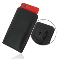 10% OFF + FREE SHIPPING, Buy Best PDair Quality Handmade Protective Sony Xperia Z3 Compact Pouch Case with Belt Clip (Red Stitch). You also can go to the customizer to create your own stylish leather case if looking for additional colors, patterns and typ
