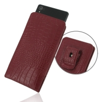 10% OFF + FREE SHIPPING, Buy PDair Top Quality Handmade Protective Sony Xperia Z3 Pouch Case with Belt Clip (Red Croc Pattern). You also can go to the customizer to create your own stylish leather case if looking for additional colors, patterns and types.