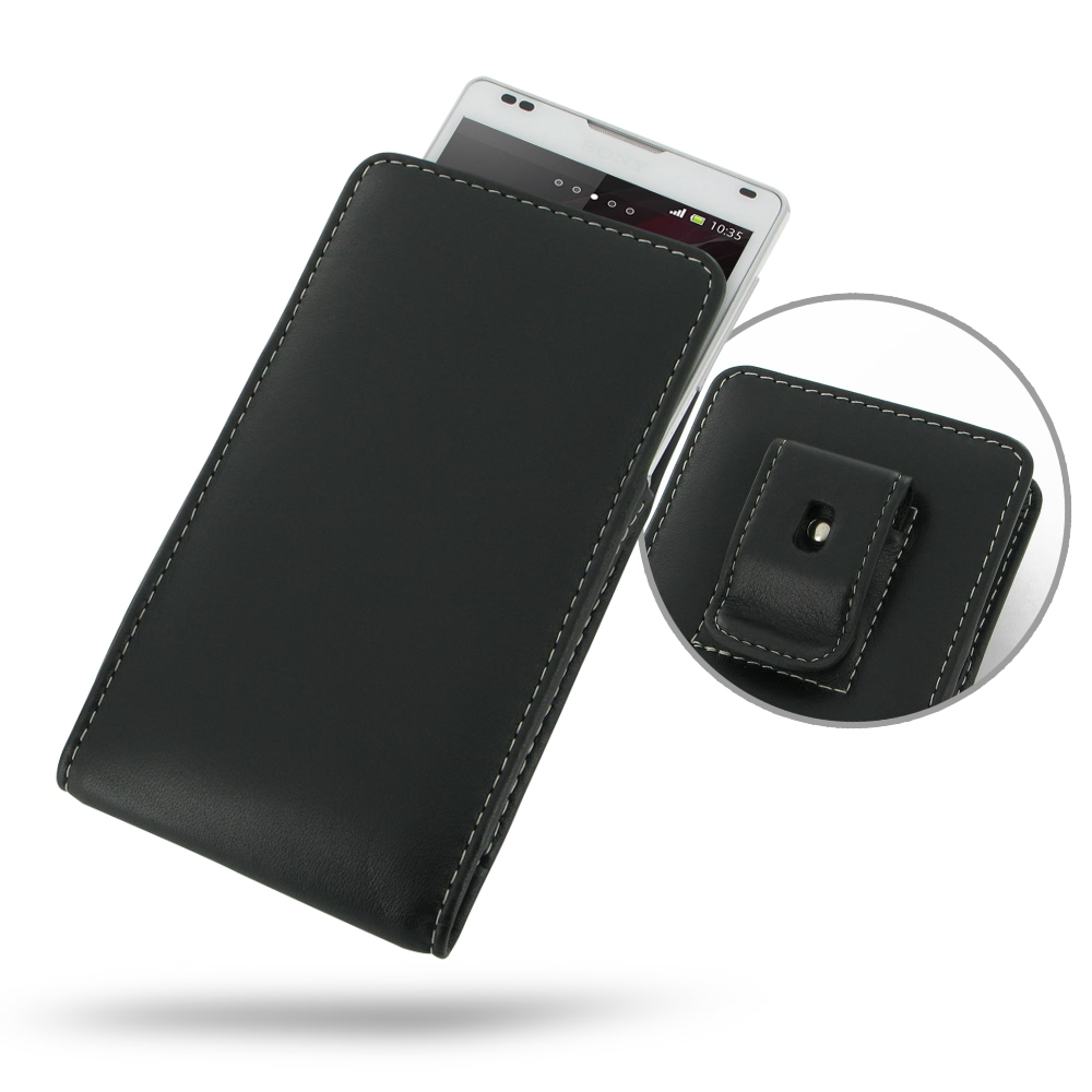 10% OFF + FREE SHIPPING, Buy Best PDair Top Quality Handmade Protective Sony Xperia ZL Pouch Case with Belt Clip online. You also can go to the customizer to create your own stylish leather case if looking for additional colors, patterns and types.
