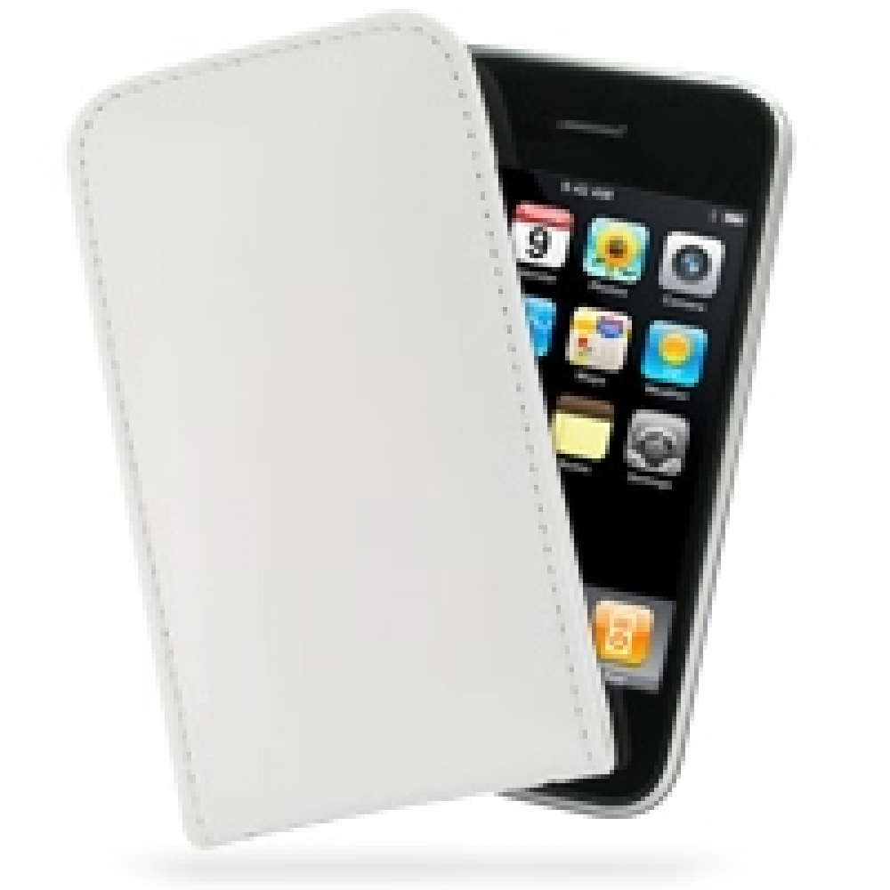 10% OFF + FREE SHIPPING, Buy Best PDair Top Quality Handmade Protective iPhone 3G 3Gs Leather Sleeve Pouch Case (White) online. Pouch Sleeve Holster Wallet You also can go to the customizer to create your own stylish leather case if looking for additional