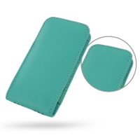 10% OFF + FREE SHIPPING, Buy Best PDair Quality Handmade Protective iPhone 5 | iPhone 5s Genuine Leather Sleeve Pouch Case (Aqua) online. Pouch Sleeve Wallet You also can go to the customizer to create your own stylish leather case if looking for addition