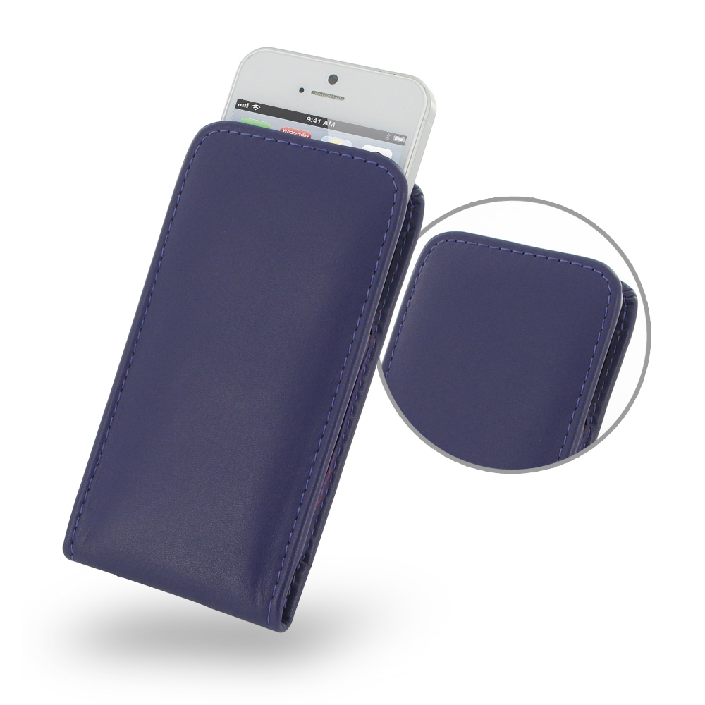 10% OFF + FREE SHIPPING, Buy Best PDair Quality Handmade Protective iPhone 5 | iPhone 5s Genuine Leather Sleeve Pouch Case (Purple) online. Pouch Sleeve Wallet You also can go to the customizer to create your own stylish leather case if looking for additi