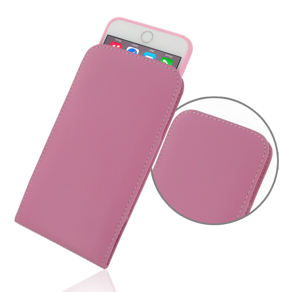 10% OFF + FREE SHIPPING, Buy PDair Quality Handmade Protective iPhone 6 Plus   iPhone 6s Plus (in Slim Cover) Pouch Case (Petal Pink) online. You also can go to the customizer to create your own stylish leather case if looking for additional colors, patte
