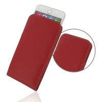Leather Vertical Pouch Case for Apple iPhone 6 Plus | iPhone 6s Plus (Red)