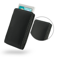 Leather Vertical Pouch Case for Apple iPod nano 8th / iPod nano 7th Generation