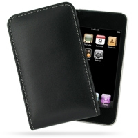10% OFF + FREE SHIPPING, Buy Best PDair Quality Handmade Protective iPod Touch 3rd 2009 Genuine Leather Sleeve Pouch Case (Black) You also can go to the customizer to create your own stylish leather case if looking for additional colors, patterns and type
