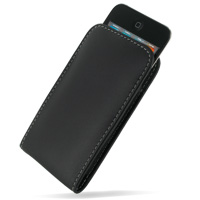 iPod Touch 4th Leather Sleeve Pouch Case PDair Premium Hadmade Genuine Leather Protective Case Sleeve Wallet