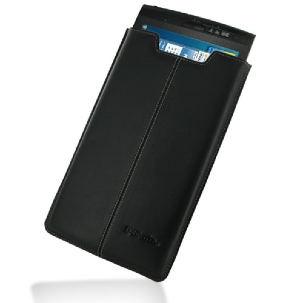 Groovy Archos 9 Tablet Leather Sleeve Pouch Case Black Pdair Interior Design Ideas Oteneahmetsinanyavuzinfo
