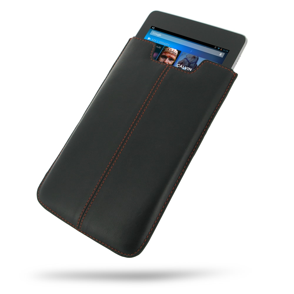 10% OFF + FREE SHIPPING, Buy Best PDair Quality Handmade Protective Asus Google Nexus 7 Genuine Leather Sleeve Pouch Case (Orange Stitch). You also can go to the customizer to create your own stylish leather case if looking for additional colors, patterns