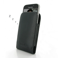 Leather Vertical Pouch Case for BlackBerry Classic