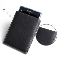 Leather Vertical Pouch Case for BlackBerry Passport (in Slim Case/Cover)