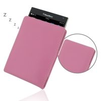 Leather Vertical Pouch Case for BlackBerry Passport (Petal Pink)