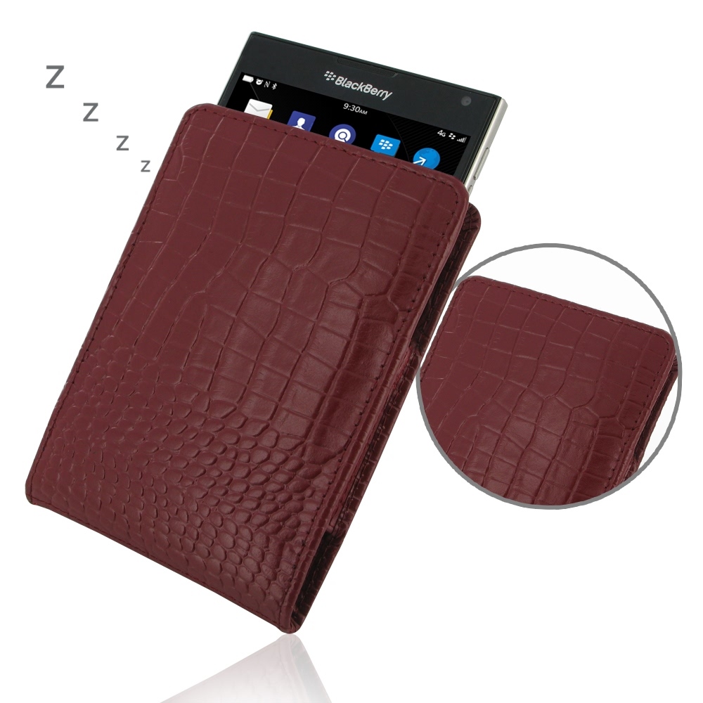 10% OFF + FREE SHIPPING, Buy PDair Quality Handmade Protective BlackBerry Passport Genuine Leather Sleeve Pouch Case (Red Croc Pattern). You also can go to the customizer to create your own stylish leather case if looking for additional colors, patterns a