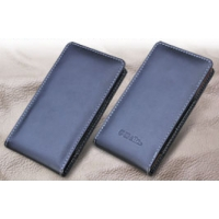 Leather Vertical Pouch Case for Fujitsu ARROWS NX F-05F