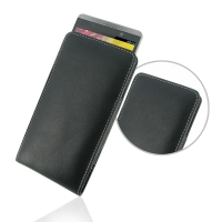 HP Slate 6 VoiceTab Leather Sleeve Pouch Case PDair Premium Hadmade Genuine Leather Protective Case Sleeve Wallet