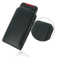 Leather Vertical Pouch Case for HTC Desire 310