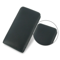 Leather Vertical Pouch Case for HTC Desire 700