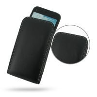 Leather Vertical Pouch Case for HTC First (AT&T)