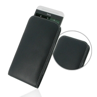 Leather Vertical Pouch Case for HTC One E8