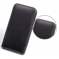 HTC One mini Leather Sleeve Pouch Case PDair Premium Hadmade Genuine Leather Protective Case Sleeve Wallet