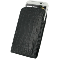 10% OFF + FREE SHIPPING, Buy Best PDair Quality Handmade Protective HTC Sensation XL Leather Sleeve Pouch Case (Black Croc Pattern). You also can go to the customizer to create your own stylish leather case if looking for additional colors, patterns and t