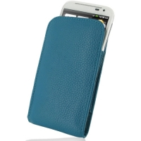 10% OFF + FREE SHIPPING, Buy Best PDair Quality Handmade Protective HTC Sensation XL Leather Sleeve Pouch Case (Teal Pebble Leather) You also can go to the customizer to create your own stylish leather case if looking for additional colors, patterns and t