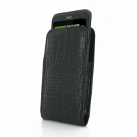 10% OFF + FREE SHIPPING, Buy PDair Top Quality Handmade Protective HTC Titan Leather Sleeve Pouch Case (Black Croc Pattern) online. You also can go to the customizer to create your own stylish leather case if looking for additional colors, patterns and ty