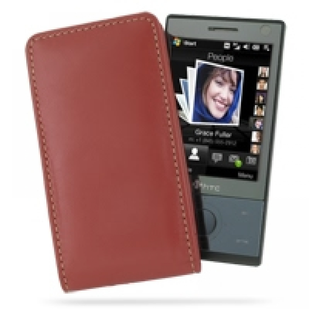 htc touch diamond 100 leather sleeve pouch case red pdair wallet rh pdair com htc touch diamond manual HTC Touch Diamond 3