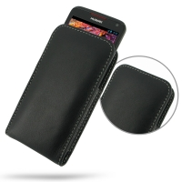 Huawei Ascend D1 XL Leather Sleeve Pouch Case PDair Premium Hadmade Genuine Leather Protective Case Sleeve Wallet