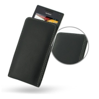 Huawei Ascend P1 U9200 Leather Sleeve Pouch Case PDair Premium Hadmade Genuine Leather Protective Case Sleeve Wallet
