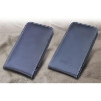 Leather Vertical Pouch Case for Kyocera DIGNO M KYL22