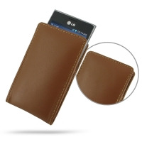 10% OFF + FREE SHIPPING, Buy Best PDair Top Quality Handmade Protective LG Optimus L5 Leather Sleeve Pouch Case (Brown) online. Pouch Sleeve Holster Wallet You also can go to the customizer to create your own stylish leather case if looking for additional