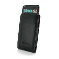 Microsoft Lumia 640 LTE Leather Sleeve Pouch Case PDair Premium Hadmade Genuine Leather Protective Case Sleeve Wallet