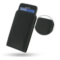 Motorola Atrix HD Leather Sleeve Pouch Case PDair Premium Hadmade Genuine Leather Protective Case Sleeve Wallet