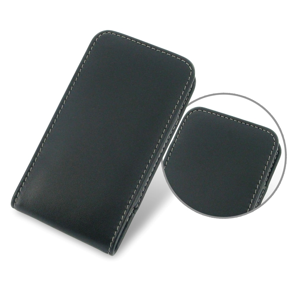 official photos 175ae e4aa2 Motorola Droid Mini Leather Sleeve Pouch Case :: PDair Flip Wallet