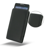 Leather Vertical Pouch Case for Motorola Droid Razr Maxx HD