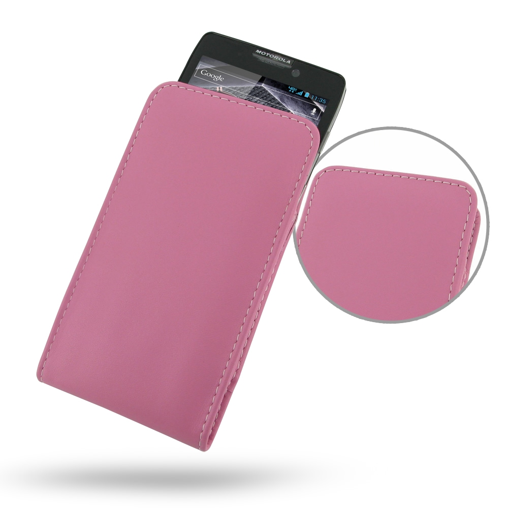 10% OFF + FREE SHIPPING, Buy PDair Quality Handmade Protective Motorola Droid Razr Maxx HD Leather Sleeve Pouch Case (Petal Pink) online. You also can go to the customizer to create your own stylish leather case if looking for additional colors, patterns