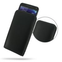 Motorola Electrify M Leather Sleeve Pouch Case PDair Premium Hadmade Genuine Leather Protective Case Sleeve Wallet
