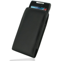 Leather Vertical Pouch Case for Motorola RAZR XT910/Droid RAZR XT912