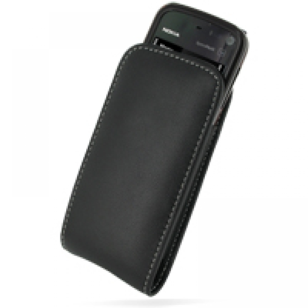 10% OFF + FREE SHIPPING, Buy PDair Top Quality Handmade Protective Nokia 5800 XpressMusic Leather Sleeve Pouch Case (Black) online. You also can go to the customizer to create your own stylish leather case if looking for additional colors, patterns and ty