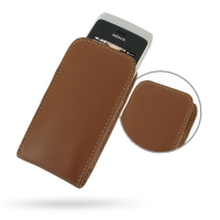 10% OFF + FREE SHIPPING, Buy Best PDair Top Quality Handmade Protective Nokia Asha 308 Leather Sleeve Pouch Case (Brown) online. Pouch Sleeve Holster Wallet You also can go to the customizer to create your own stylish leather case if looking for additiona