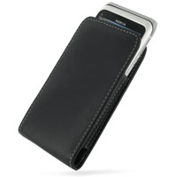 Nokia E7-00 Leather Sleeve Pouch Case PDair Premium Hadmade Genuine Leather Protective Case Sleeve Wallet