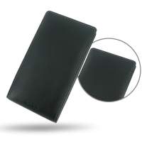 Nokia Lumia 1520 Leather Sleeve Pouch Case PDair Premium Hadmade Genuine Leather Protective Case Sleeve Wallet