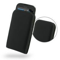 Nokia Lumia 510 Leather Sleeve Pouch Case PDair Premium Hadmade Genuine Leather Protective Case Sleeve Wallet