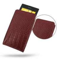 10% OFF + FREE SHIPPING, Buy Best PDair Quality Handmade Protective Nokia Lumia 520 Leather Sleeve Pouch Case (Red Croc Pattern). Pouch Sleeve Holster Wallet You also can go to the customizer to create your own stylish leather case if looking for addition