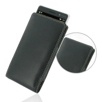 Leather Vertical Pouch Case for Nokia Lumia 830
