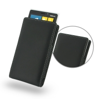 Nokia Lumia 920 Leather Sleeve Pouch Case PDair Premium Hadmade Genuine Leather Protective Case Sleeve Wallet